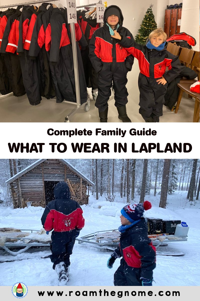 PIN what to wear in lapland