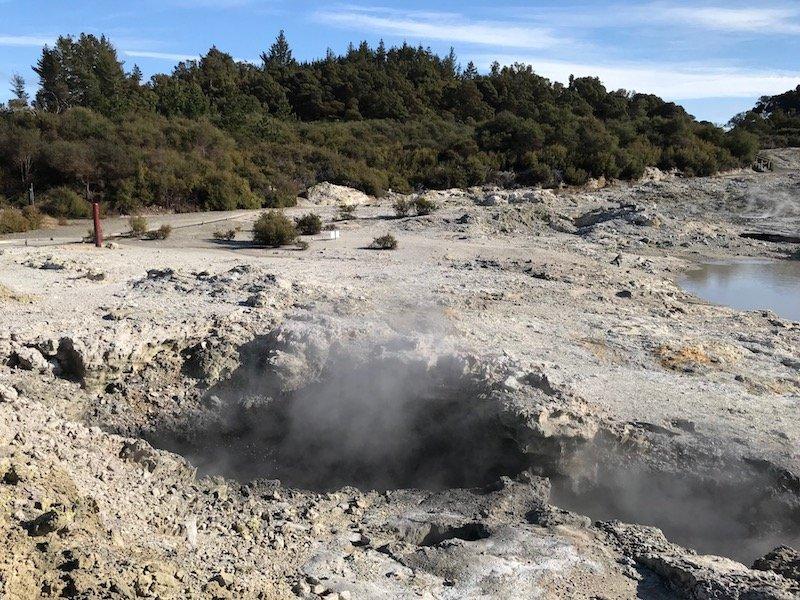 Photo Hells Gate Rotorua Ink Pots