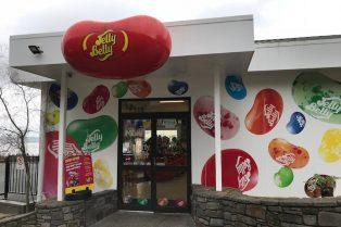 Photo - Jelly Belly NZ shop entrance