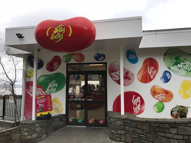 Photo - Jelly Belly NZ shop entrance