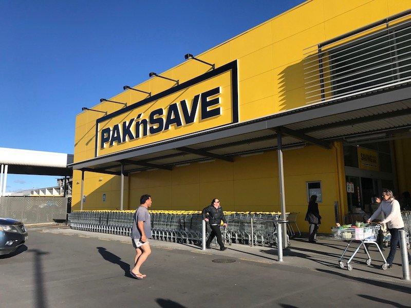 Photo - Pak n save fuel receipt