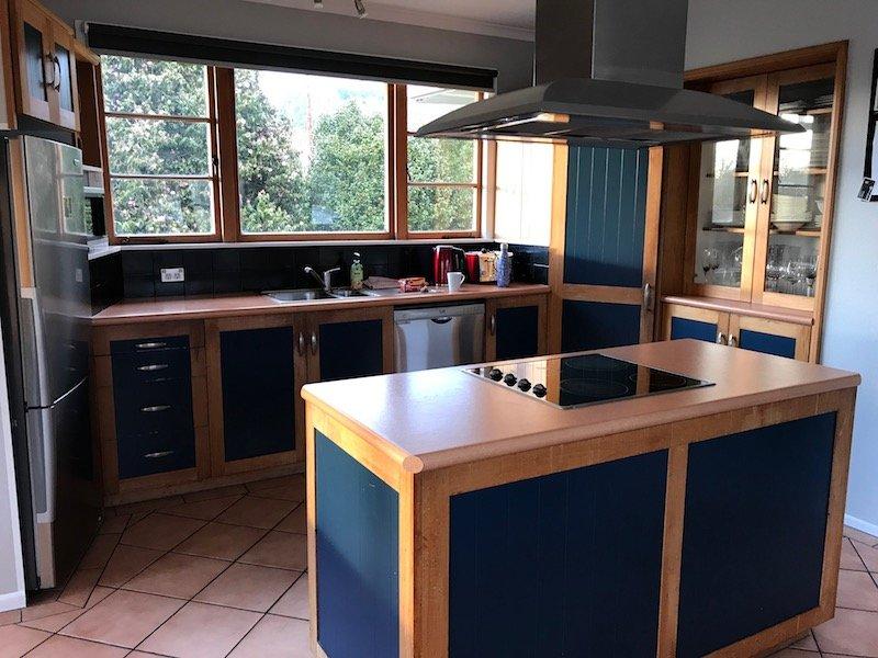 Photo - Rotorua bach house kitchen