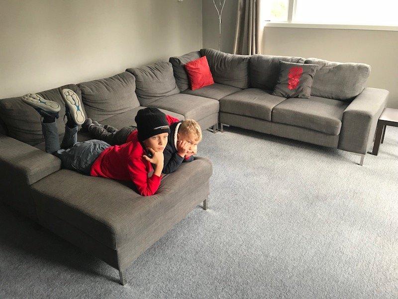 Photo - Rotorua family accommodation lounge