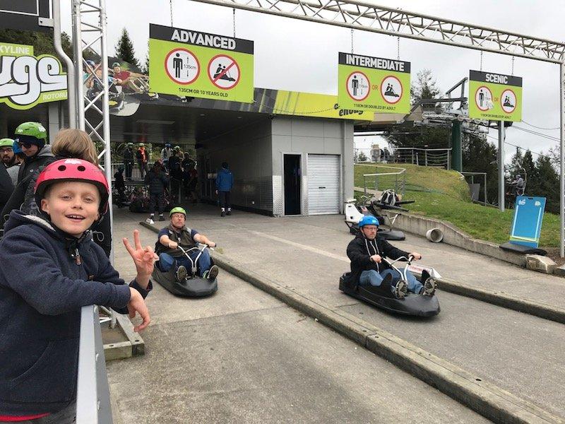 Photo - Skyline Rotorua Luge 3 tracks