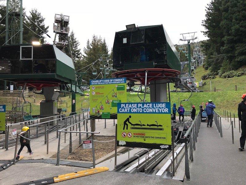 Photo - Skyline Rotorua Luge chairlift