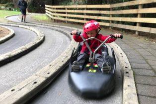 Photo - Skyline Rotorua Luge end of track with jack