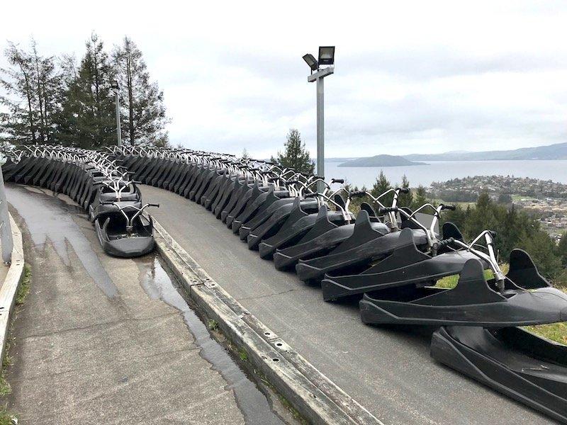 Photo - Skyline Rotorua Luge line up