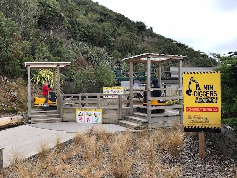 Photo - Skyline Rotorua Luge mini diggers