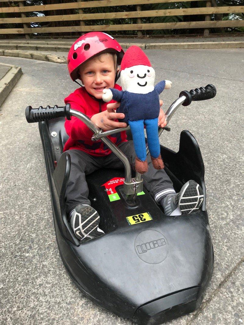 Photo - Skyline Rotorua Luge riding with RTG