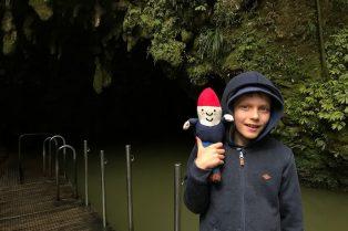 Photo- Waitomo caves for kids end of tour