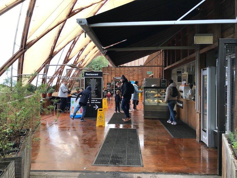 Photo- Waitomo caves restaurant view