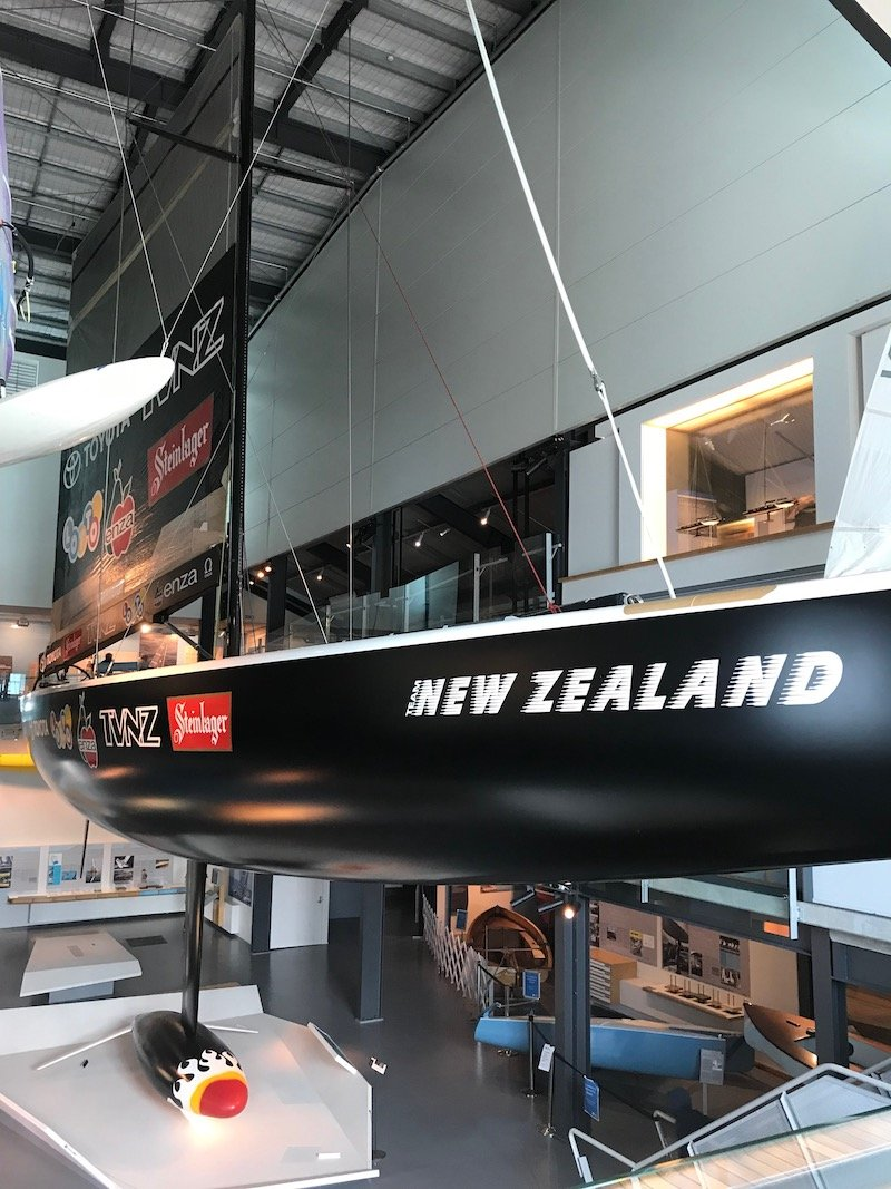 Photo - auckland maritime museum america's cup boat