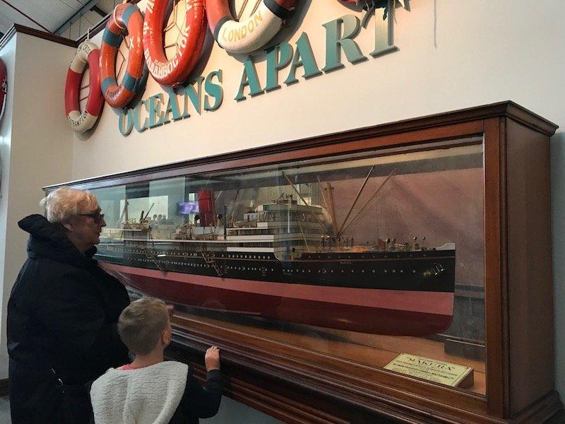 Photo - auckland maritime museum ship models