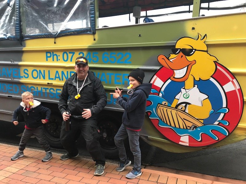 Photo - duck boat tours rotorua with driver