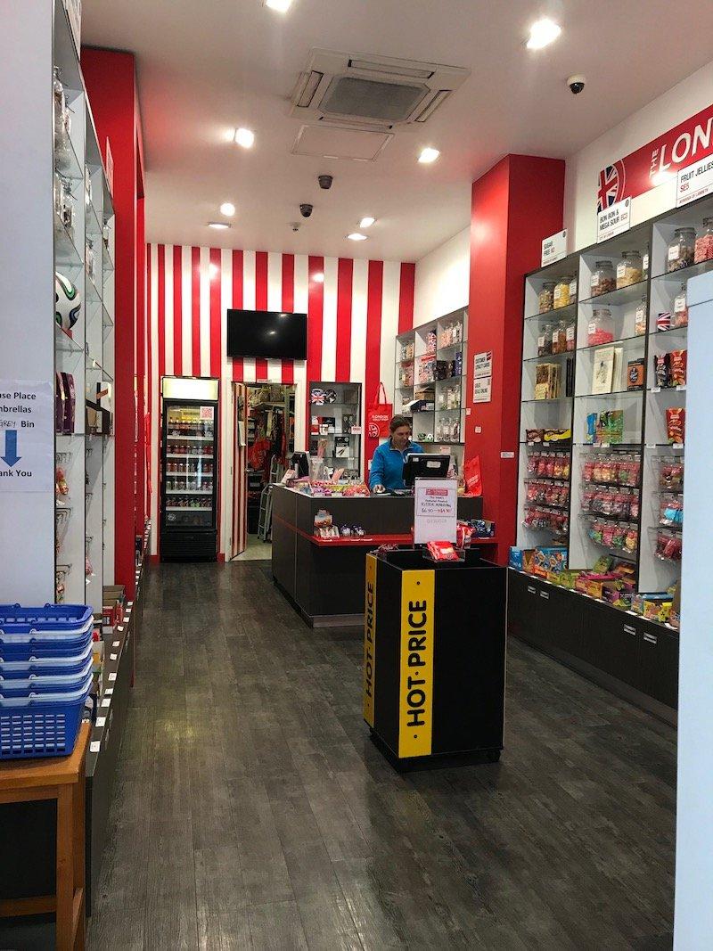 Photo - london lolly shop auckland interior portrait