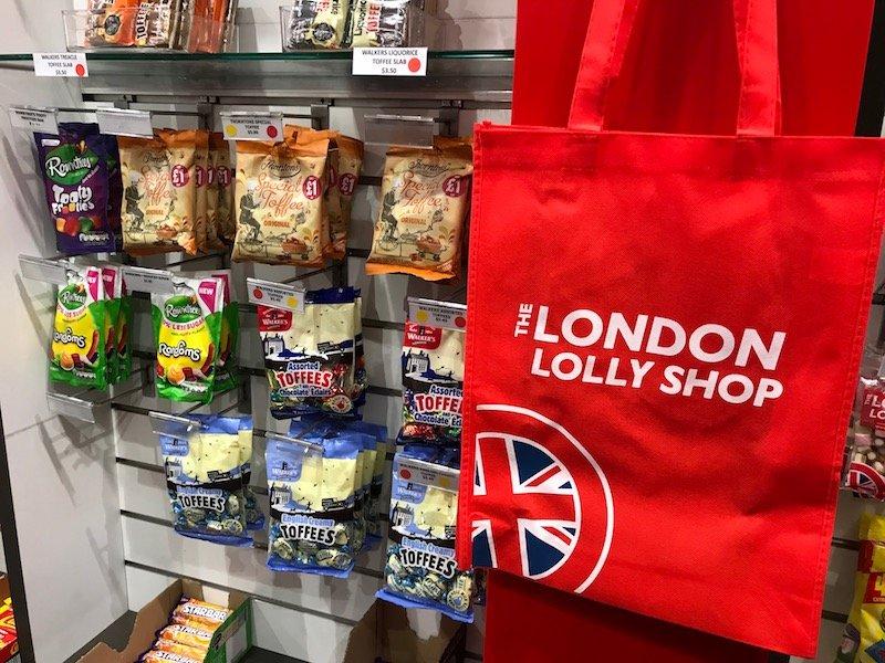 Photo - london lolly shop auckland souvenir bag