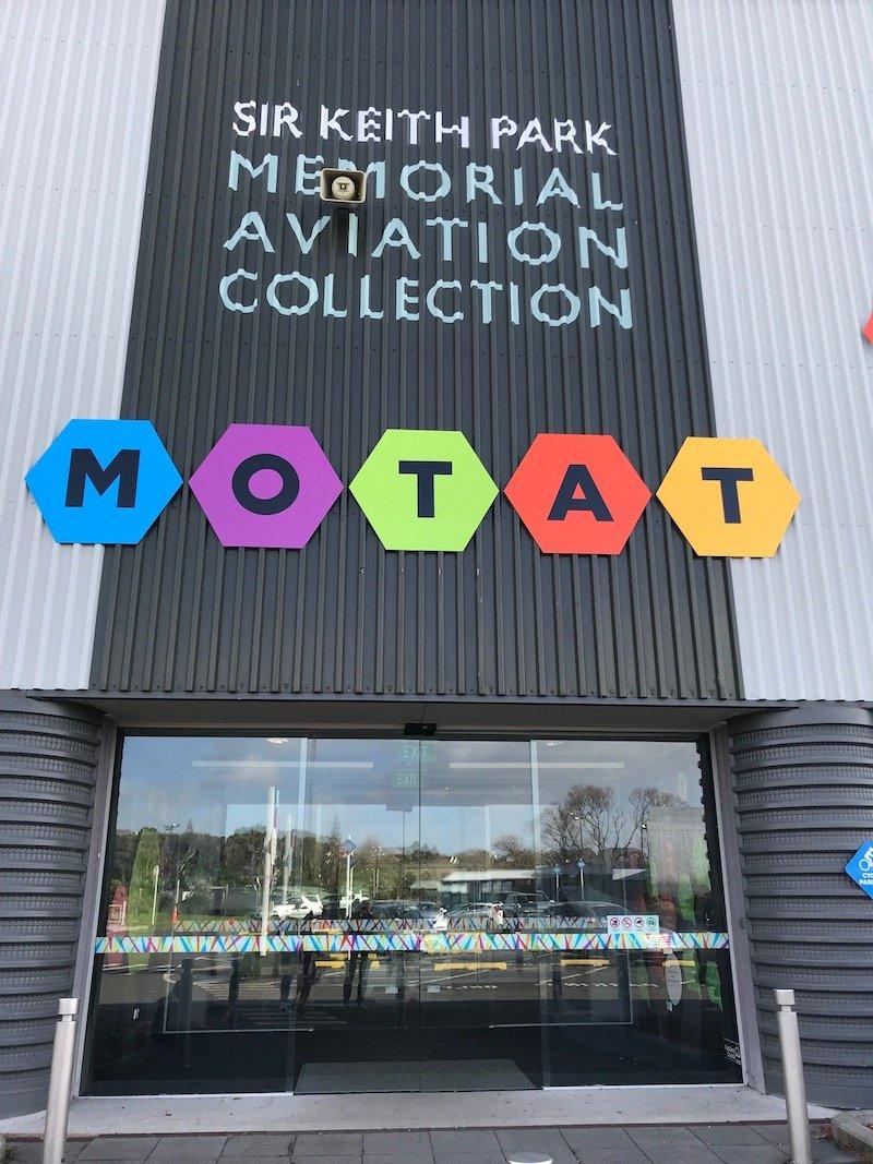 Photo - motat aviation hall entrance