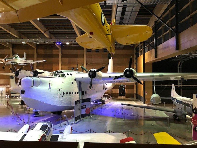Photo - motat aviation hall header