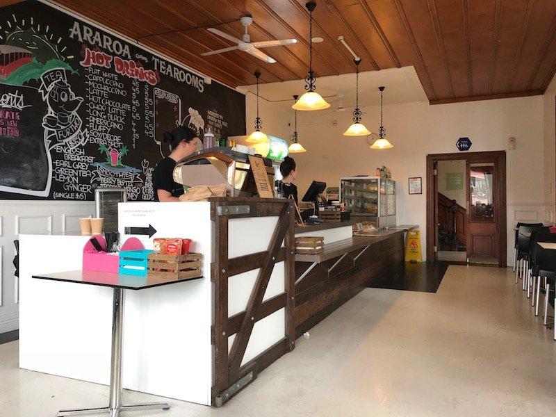 Photo - motat cafe counter