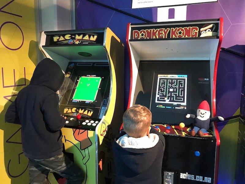 Photo - motat get smart exhibition arcade games