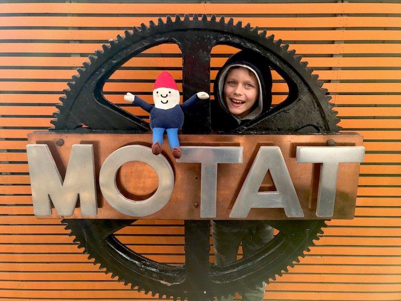 Photo - motat museum sign