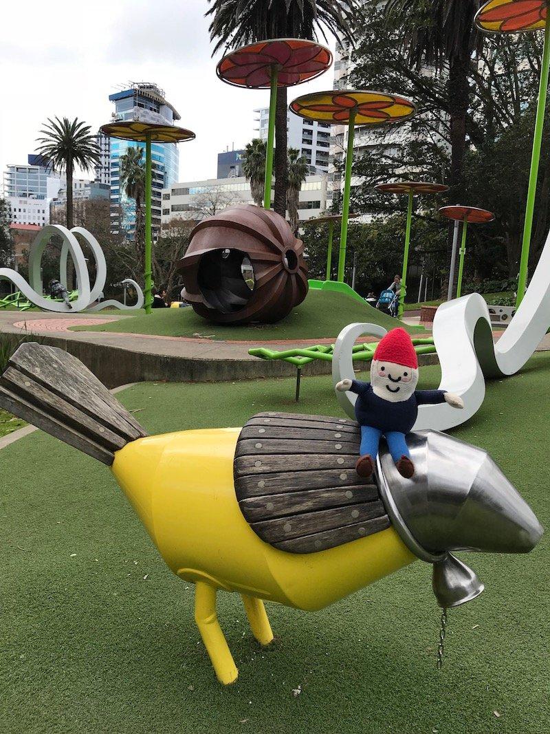 Photo - myers park playground portrait pic