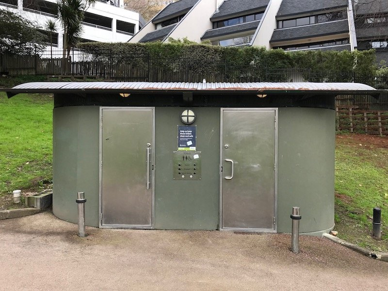 Photo - myers park public toilets