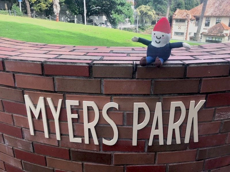 Photo - myers park sign
