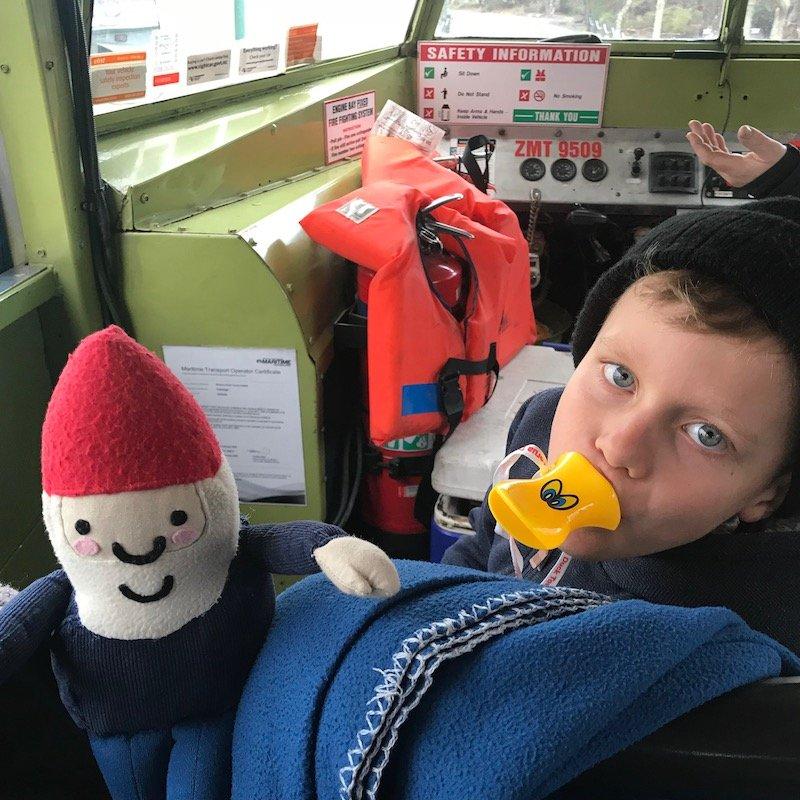 Photo - ned on rotorua duck tours