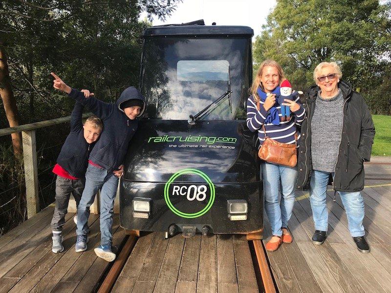 Photo - railcruising rotorua family pic
