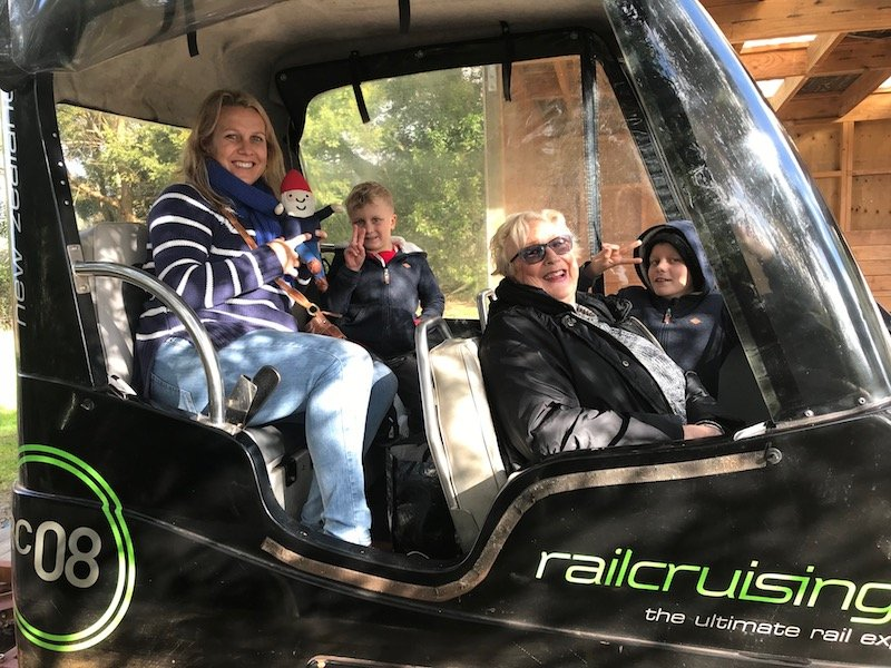Photo - railcruising rotorua inside vehicle