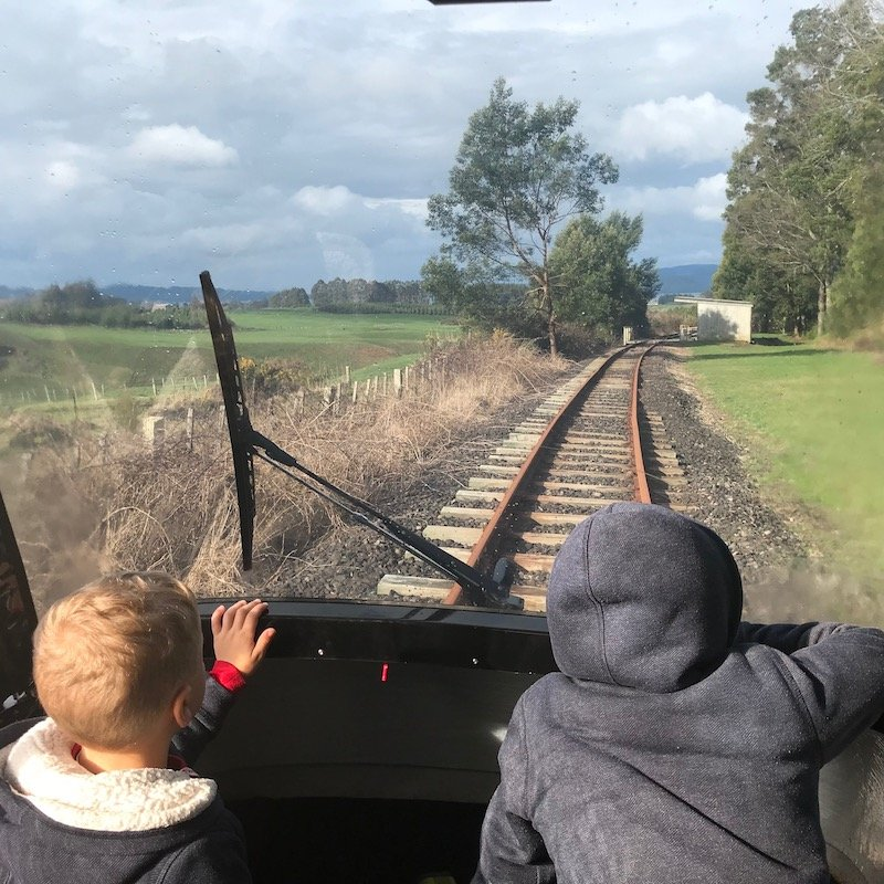 Photo - rail cruising rotorua new zealand sunlight