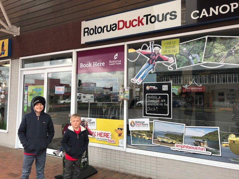 Photo - rotorua duck tours office