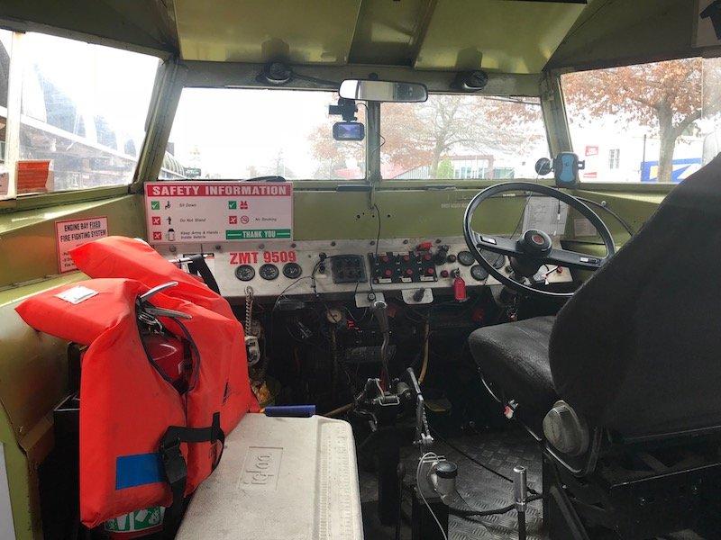 Photo - rotorua duck tours steering wheel
