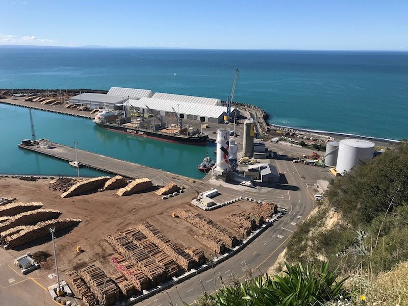 Port of Napier attractions pic