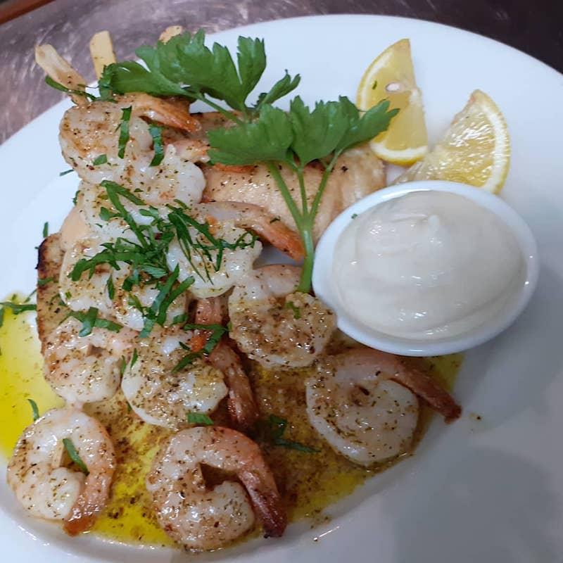 ciccio garlic prawns pic via fb