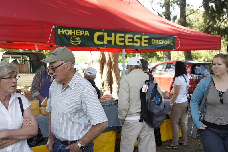 hohepa cheese hawkes bay farmers market pic by itravelnz