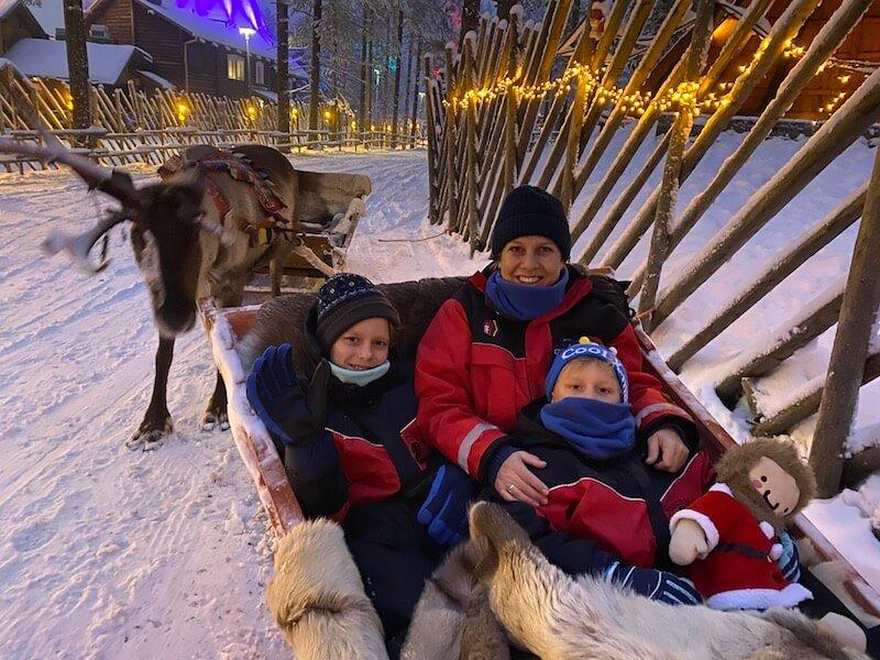 image - Santa claus village reindeer sleigh ride