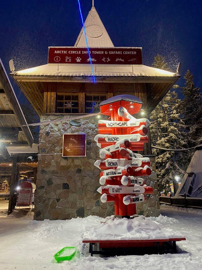 image - arctic circle lapland christmas