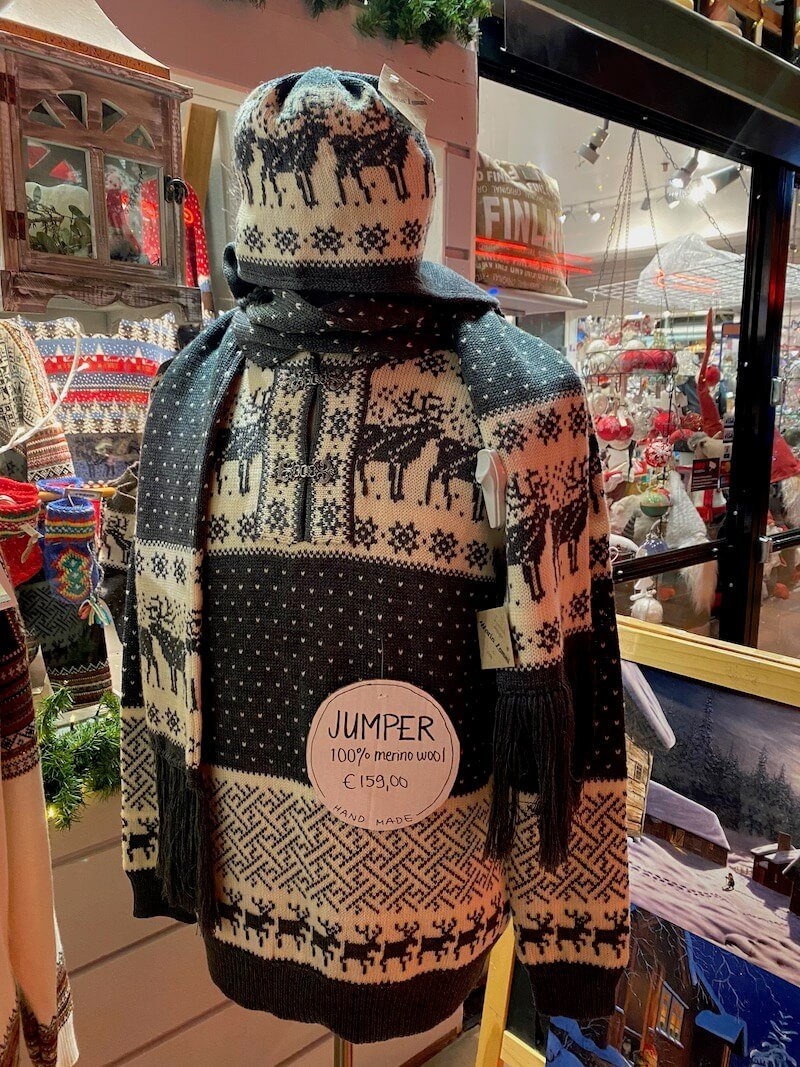 image - lapland souvenirs from santa claus gift house shops