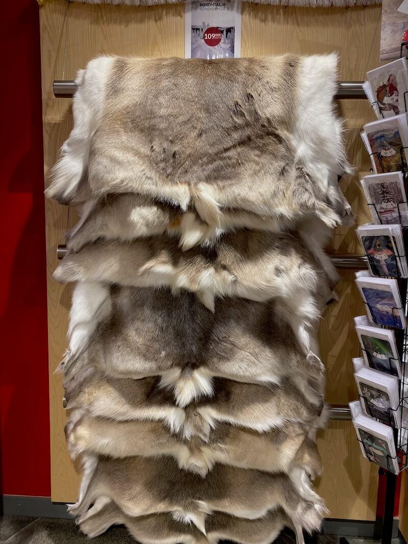 image - marttiini finnish reindeer hides