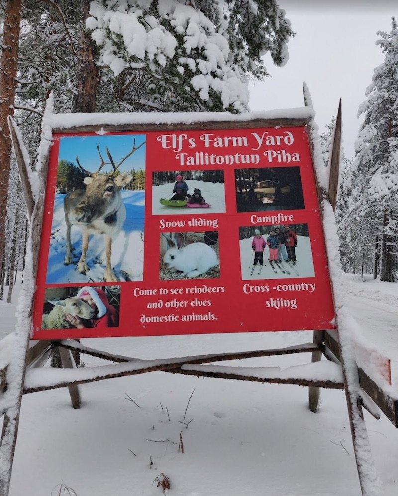 image - santa claus village elf farm yard