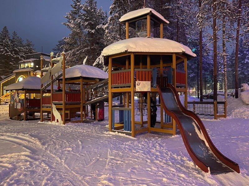 image - santa village playground