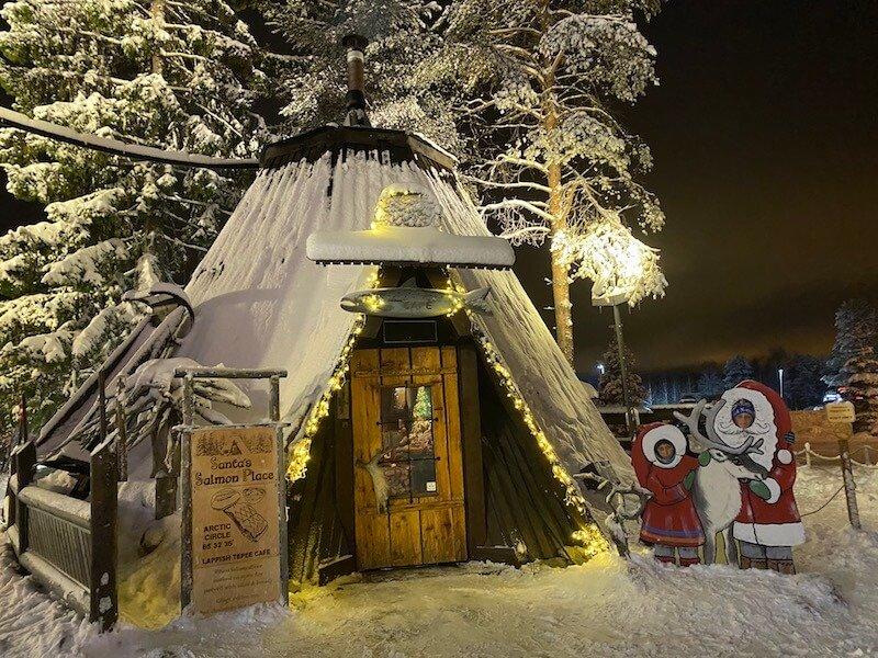 image - santas salmon place at santa village