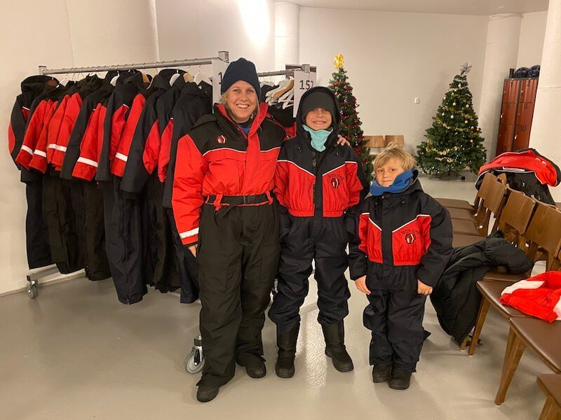 image - snow suit hire family - rovaniemi weather
