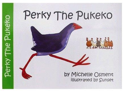 perky-the-pukeko children's book pic