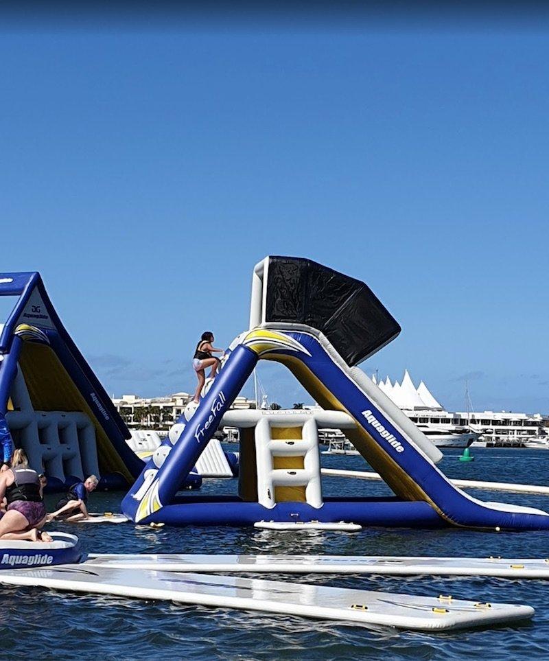 photo - aqua splash southport slide by chris benson