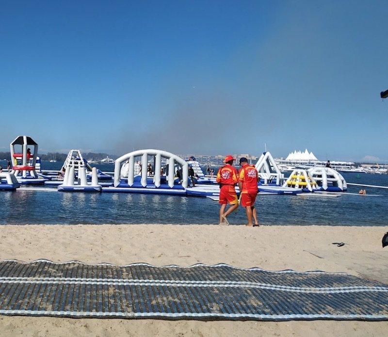 photo aquasplash lifeguards by herm d
