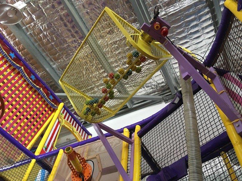 photo - big top playhouse ball drop