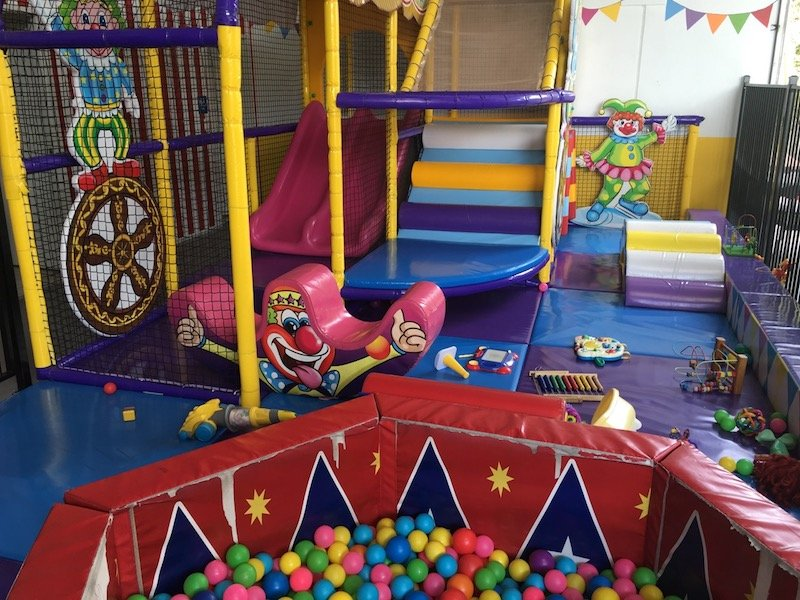 photo - big top playhouse toddler playground